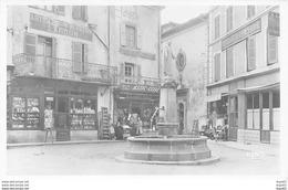 LA LOUVESC - La Place Et La Statue De Saint Régis - Très Bon état - La Louvesc
