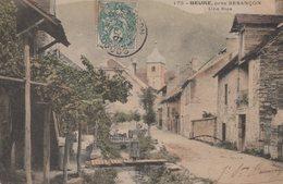 T3  - 25 - Doubs  - BEURE - UNE RUE - Colorisée - Francia