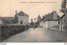 SAINT JULIEN AUX BOIS - Avenue De Saint Privat - Très Bon état - Sonstige Gemeinden