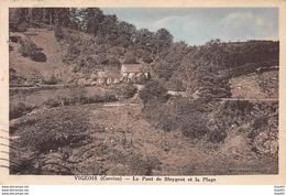 VIGEOIS - Le Pont De Bleygeat Et La Plage - Très Bon état - Andere Gemeenten