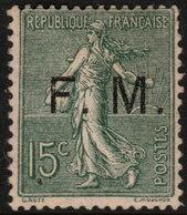 ~~~ France 1901/04 - F.M. Franchise Militaire - Yv. 3 * MH -  CV 80.00 Euro - Sans Defaut ~~~ - Franchise Stamps