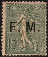 ~~~ France 1901/04 - F.M. Franchise Militaire - Yv. 3 ** MNH -  CV 210.00 Euro - Sans Defaut ~~~ - Franchise Stamps