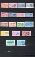 Timbres Fiscaux Fiscal Revenue Taxe Piscicole - Revenue Stamps