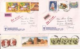 (CdC) India, Sobres (2) Y Fragmentos (3) - India