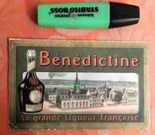 Pâques 1923 : Menu Bénédictine - Hôtel Moderne à Fougères - Bretagne - Menus