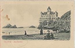Etat-Unis, CALIFORNIA, Cliff House - SAN FRANCISCO, CA., Scan Recto Verso - San Francisco