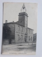 "@@ CPA SALINELLES  "" HOTEL DE VILLE ""  MAIRIE 1908 MAIRIE COLLECTION H.P.E - Otros Municipios"
