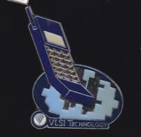 61196 - Pin's-VLSI Technology .telecommunication.telephone.. - Telecom De Francia