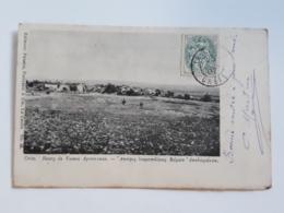 """@@ CPA CRETE   """" BOURG DE VAMOS APOCORONAS """" 1907 DOS NON DIVISE - Cartes Postales"""