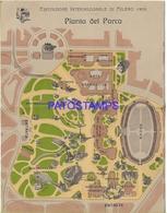 128755 ITALY MILANO MILAN LOMBARDIA EXPOSITION INTERNATIONAL 1906 PLANT OF THE PARK DOUBLE POSTAL POSTCARD - Italien