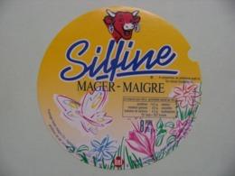 """Etiquette Fromage Fondu - Vache Qui Rit - 8 Portions 170g Bel Pub """"Silfine-Maigre""""    A Voir ! - Cheese"""