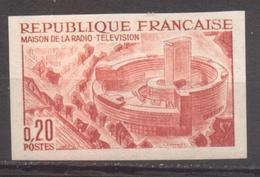 Maison De La Radio YT 1402 De 1963 Essai De Couleur Sans Trace Charnière - Francia