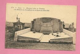 C.P. Dison = Au  Cimetière  : Monument  1914-1918  à La Mémoire  Des Combattants - Dison