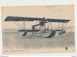 HYDRAVION SUR LA PLAGE CPA BON ETAT - ....-1914: Précurseurs