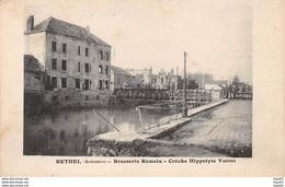 RETHEL - Brasserie Rémolu - Crèche Hippolyte Voiret - Très Bon état - Rethel
