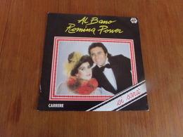 """45 T Al Bano Romina Power """" Ci Sarà, Quando L'amore Se Ne Va """" - Discos De Vinilo"""