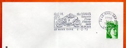 72 LE MANS  ENDURANCE ( Moto )   1979 Lettre Entière N° OP 73 - Marcophilie (Lettres)
