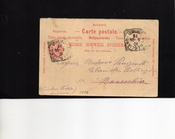 CG6 - Italia - Cartolina Postale Da Conegliano Del 10/4/1906 Per Ravecchia (CH) - Andere