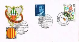35560. Carta BARCELONA 1981. 61 Volta Ciclista Cataluña. Fechador MANRESA. Ciclismo - 1931-Hoy: 2ª República - ... Juan Carlos I