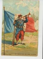 MILITARIA - REGIMENTS - ARMÉE FRANÇAISE - Infanterie De Ligne (Clairon ) - N° 44 - Par Illustrateur A. PALM DE ROSA - Regimientos