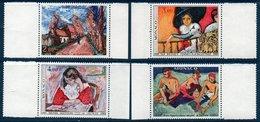 """MON 1980  Anniversaire Du Salon D'automne 1905 : Le """"fauvisme""""  N°YT 1241-1244  ** MNH Bord De Feuille - Monaco"""