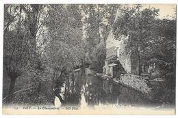 Cpa: 58 OISY (ar. Clamecy) Le Champmorin (Pêcheur) N° 193 - Autres Communes