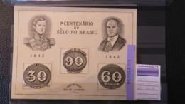 BRASIL- NICE MNH SHEET - Blokken & Velletjes