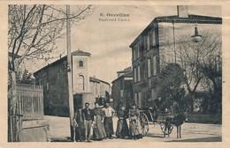 J21 - 11 - OUVEILLAN - Aude - Boulevard Carnot - France