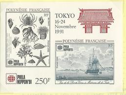 Polynésie-Philanippon'92 - Blocks & Kleinbögen