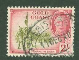 Gold Coast: 1948   KGVI   SG144    2/-      Used - Costa D'Oro (...-1957)