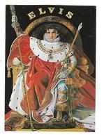 SPECTACLE---ELVIS---THE KING--illustrateur  N. WILSON--voir 2 Scans - Espectáculo