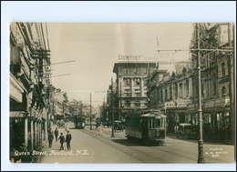 XX004381/ Auckland Queen Street  Neuseeland New Zealand Straßenbahn Foto AK  - Cartes Postales