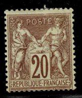 A11b-N°67 Nf * - 1876-1878 Sage (Type I)