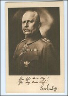 Y10562/ Ludendorff Mit Ehrenzeichen  Ludendorff-Spende AK Ca.1915 - Weltkrieg 1914-18