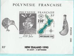 Polynésie-Nouvelle Zélande 1990 - Blocks & Kleinbögen
