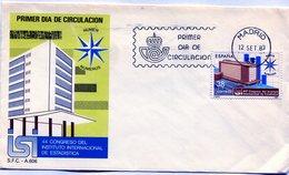 44 CONGRESO DEL INSTITUTO INTRNACIONAL DE ESTADISTICA 1981 FDC - NTVG. - 1931-Hoy: 2ª República - ... Juan Carlos I