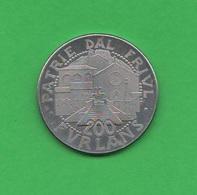 200 Lire ( Furlans ) 1981 Maniago Del Friuli - Monétaires/De Nécessité