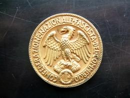 Medaglia Confederazione Nazionale Fascista Del Commercio Modena Anni '20 - '30 - Non Classificati