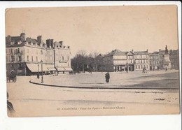 CPA France 28 - Chartres - Place Des Epars - Boulevard Chasles :  Achat Immédiat - (cd024 ) - Chartres