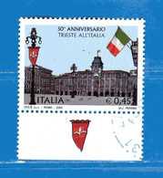 Italia ° - Anno -2004 - TRIESTE All'ITALIA.  Unif. 2825.  Usato. Da Libretto - 2001-10: Usados