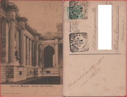 Saluti Da Messina. Cimitero Monumentale. Viaggiata 1908 - Messina