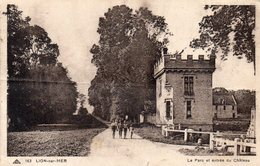LION SUR MER - Le Parc Et Entrée Du Château - Frankreich