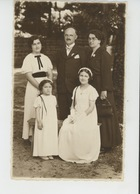 BAYARD - Belle Carte Photo Portrait De Famille Réalisé à BAYARD En 1937 - France