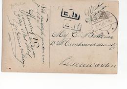 Kaatsheuvel Langebalk 1 - 1915 Militair Verzonden - Marcophilie