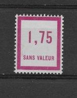 Fictif N° 40 De 1935 ** TTBE - Cote Y&T 2020 De 3 € - Phantomausgaben
