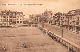 Middelkerke - Le Tennis Et L'avenue Leopold - Middelkerke