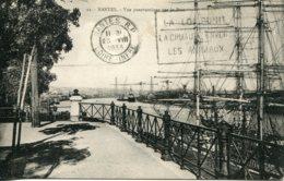 CPA -  NANTES - VUE PANORAMIQUE  SUR LE PORT (1933) - Nantes
