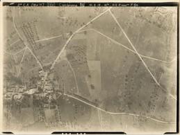 VUE AÉRIENNE FRANÇAISE DE CAMBRONNE ( LES RIBECOURT ) PRES DE NOYON OISE - GUERRE 1914 1918 - 1914-18