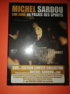 Michel Sardou -DVD Live 2005 -Au Palais Des Sports -Neuf - DVD Musicaux
