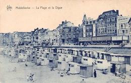 Middelkerke - La Plage Et La Digue - Middelkerke